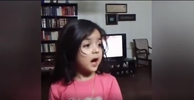 درخواست یک کودک خردسال از رئیس جمهور برای ریشه کن کردن ویروس کرونا